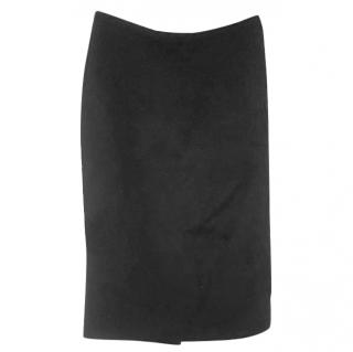 Dolce & Gabbana black pencil skirt S