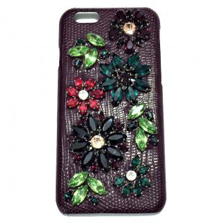 Dolce & Gabbana Crystal Embellished iPhone 6 Case.