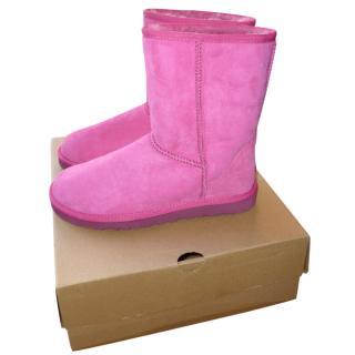 Ugg Pink Short Boots