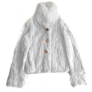 Max & Co Rabbit Fur Jacket