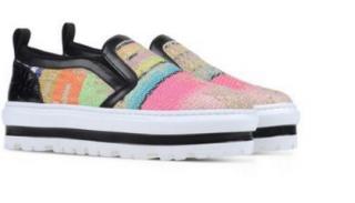 MSGM multi platform sneakers