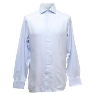 Ermenegildo Zenga Light Blue Button Up