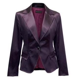 Maria Grazia Seven Purple Blazer