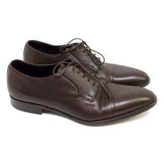 Ralph Lauren Dark Brown Leather Dress Shoes