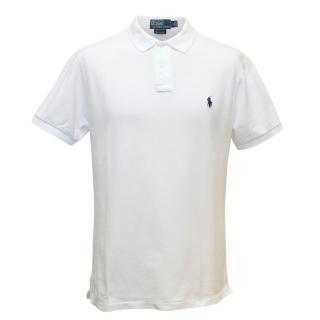 Polo By Ralph Lauren Men's White Polo