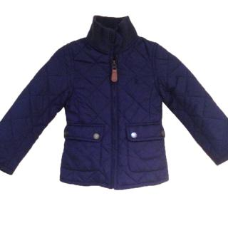 Ralph Lauren Navy Blue Quilted Jacket Age 2 years