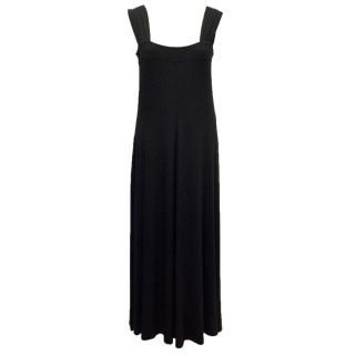 Gabi Lauton Black Maxi Dress