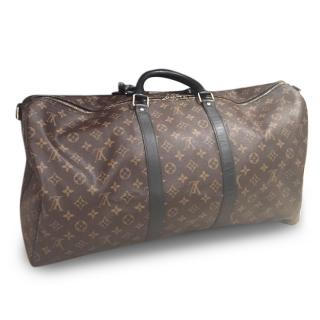 Louis Vuitton Keepall 55 with receipt