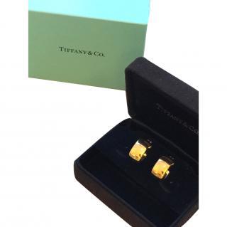 Tiffany Round Hoop Earrings