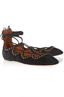Isabel Marant lace up flats