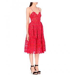 Self portrait Azaelea dress, red