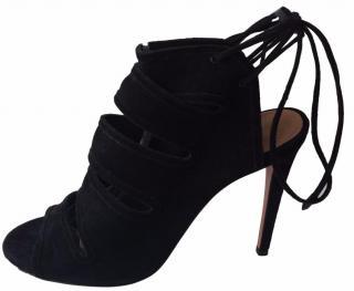 Aquazzura Suede Heels. Size 39
