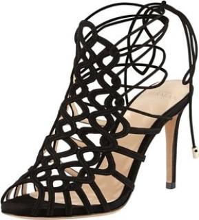 Alexandre Birman Laser Cut Heels. Size 38.5