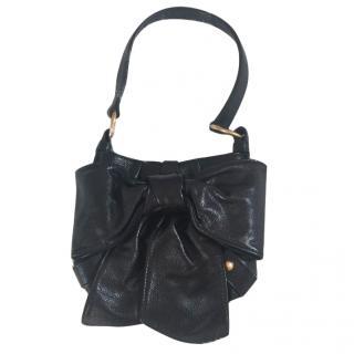 Yves Saint Laurent rive gauche le noeud collection leather bag