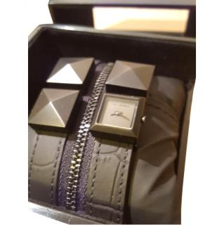 Karl Lagerfeld Fossil Zip Watch