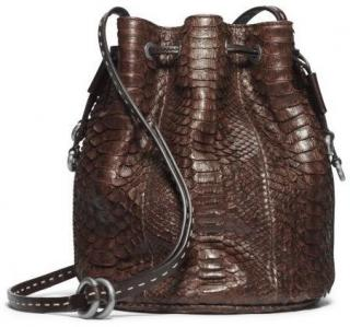 Michael Kors Collection Julie Python Bag
