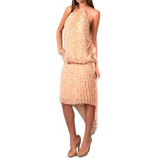Paul&Joe /Pierre Cardin Haute Couture Silk Dress