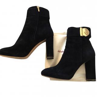 Salvatore ferragamo boots
