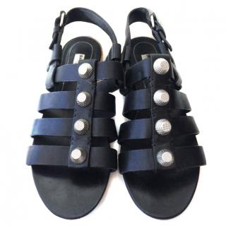 Balenciaga Gladiator Sandals. Size 38