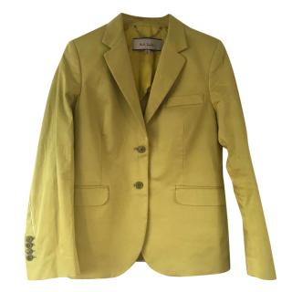 Paul Smith Yellow Blazer Jacket