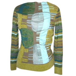 Christian Lacroix soft textured jumper, size M