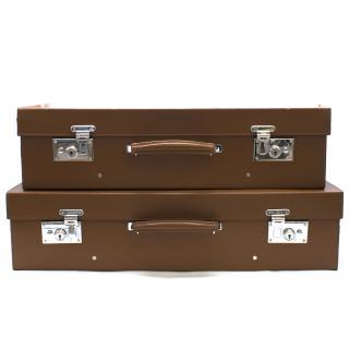 Bentley Tan Brown Suitcase with Handle