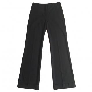 Joseph Wool Black Stretchy Trousers Small / UK 10 Immaculate Condition
