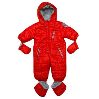 3pommes Red My Teddy Bear Snowsuit
