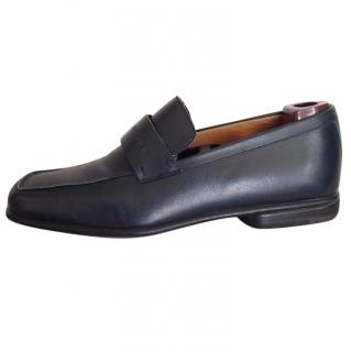 Louis Vuitton Dark Blue Flat Shoes