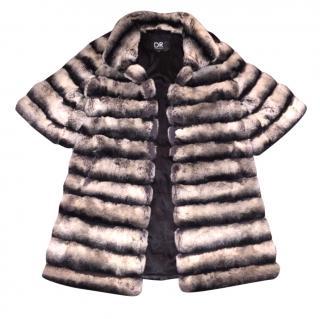 DR BY Daria Radionova Rabbit Fur Coat