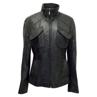 Gerry Urban Black Leather Jacket