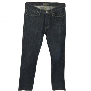 Men's Acne Dark Wash Jeans