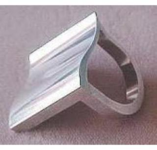 Extremely Rare Georg Jensen Stirling Silver Surf Ring