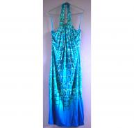 Roberto Cavalli Blue Cocktail/Evening Dress