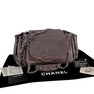 Chanel Ligne Accordion Flap bag.