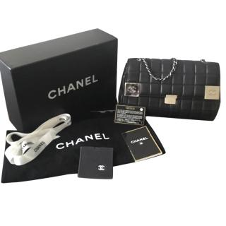 Chanel Lambs Leather Flap Bag