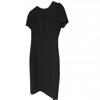 Chanel black pencil dress