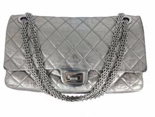 Chanel 2.55 XL Silver