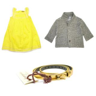 Ilovegorgeous & 3pommes Girls Dress & Cardigan Set