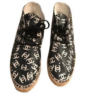 Chanel Espadrilles Boots
