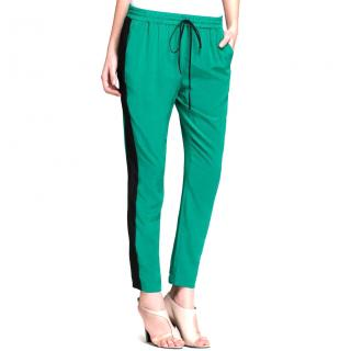 Tibi Green Pants Track