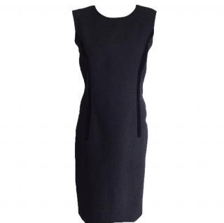 Celine black midi black dress