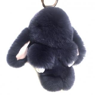 Copenhagen Rabbit Fur Bunny Key ring