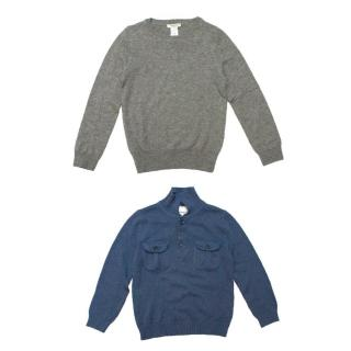 Marie Chantal & Crewcuts Set of Boys Knit Jumpers