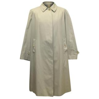 Burberry Men's Beige Trench Coat
