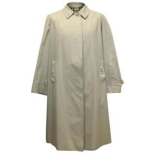 Burberry Men's Beige Trench Coat