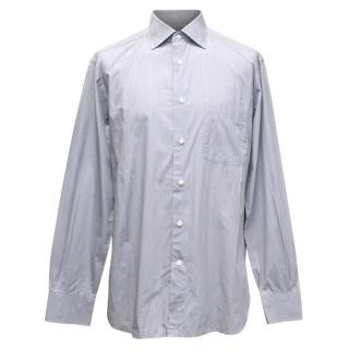 Ermenegilbo Zegna Grey Button Up