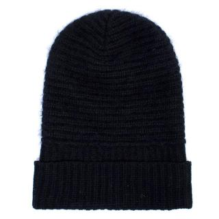 Acne Studios Black Over sized Beanie