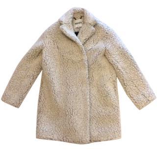 Kenzo Faux Fur Coat.