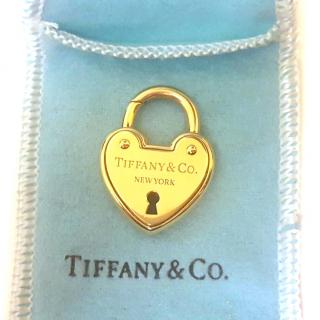 Tiffany & Co Padlock 18ct Solid Gold RRP �1700